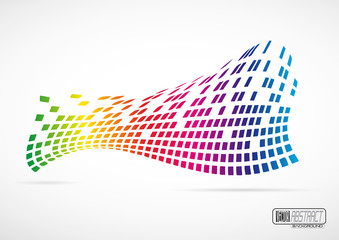Digital Abstract Vector Background