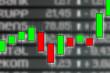 Diagramm Börse mit Werten