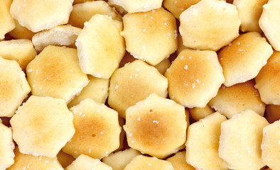 Oyster Crackers Close View