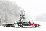 Fototapety Snowy Christmas Morning