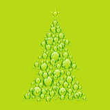 green bubble xmas tree