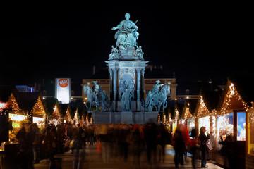 Statue of Empress Marie-Theresa , Vienna