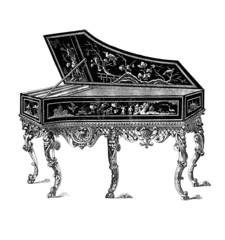 Harpsichord - Clavecin - 18th