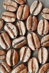 Coffee Bean Artistic Closeup