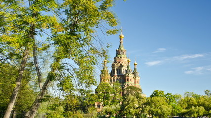 Peterhof - Peter and Paul church - St. Petersburg