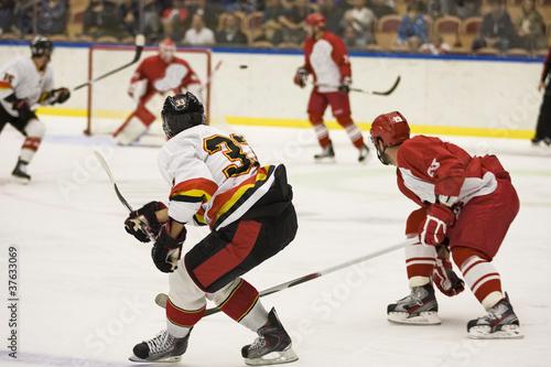 obraz PCV Hokej na lodzie gry