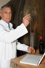 Wine testing