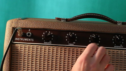 Rock guitar amp