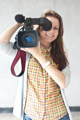 woman reporter