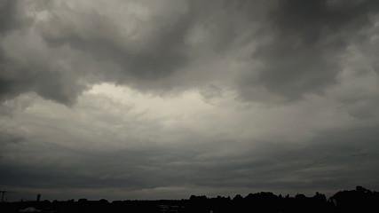 Dark Thunder Clouds
