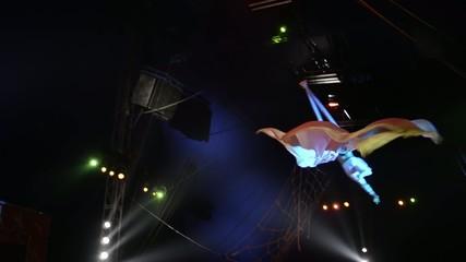 circo, l'uomo-angelo