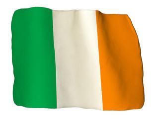 Irlanda bandiera di plastilina