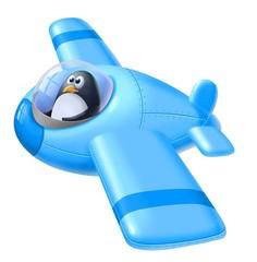 pinguino aviatore