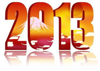 2013 with fuji mt. background