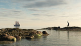 Viking Longship Homecoming poster