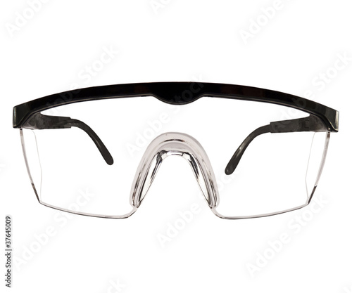 A Typical Safety Glasses
