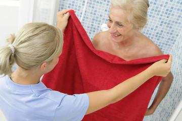 Aide  à la personne - Hygiène corporelle