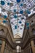 Leinwanddruck Bild - Galleria Umberto I Napoli, interno