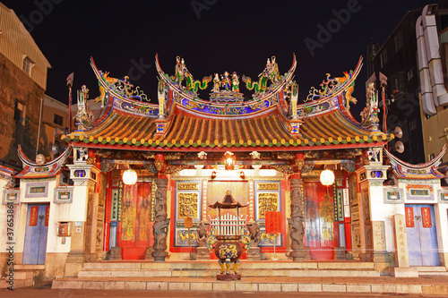 Temple of Taiwan Capital Deity,Tainan City,Taiwan