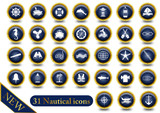 Set 31 Nautical icons