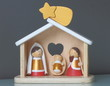 Nativity, wood creations for Christmas
