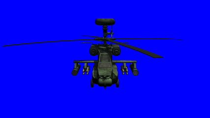 Apache helicopter bluescreen