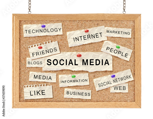 Social with networking concept