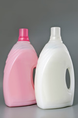 Detergent bottle. Isolated