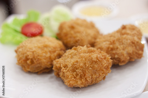 Thai Fried Shrimp Cakes is Thai Seafood