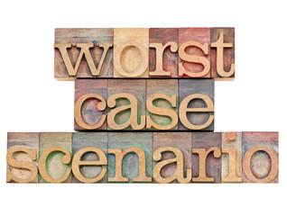 worst case scenario - risk concept