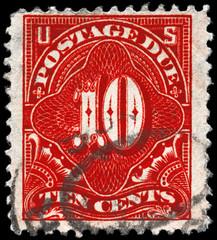 USA - CIRCA 1914 Ten cents