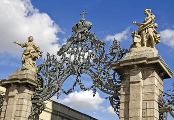 Tor zur Würzburger Residenz