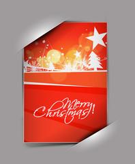 greetings card for xmas
