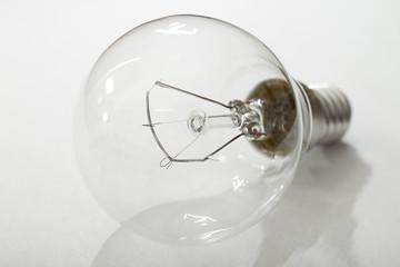 light bulb.Shallow DOF.
