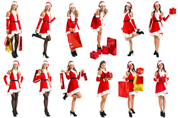 Christmas girls collection