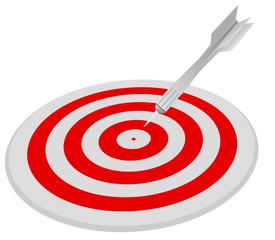 Target and Dart Arrow