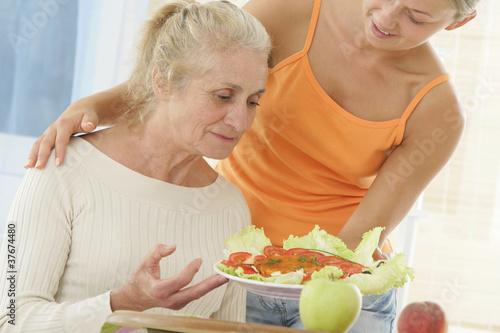 Aide à la personne - Heure du repas