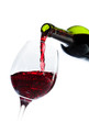 vin rouge bouteille
