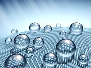 Wasserabweisende Textilien