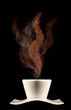 Profumo di caffè caldo