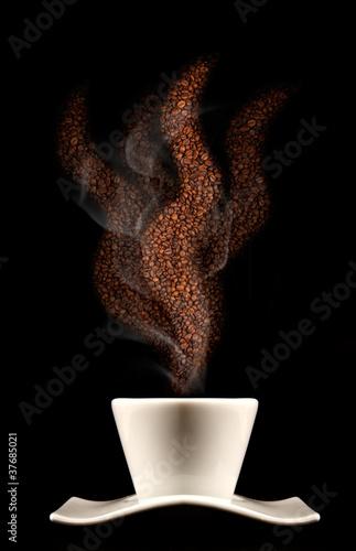 Fototapeta śniadanie - śniadanie - Kawa / Herbata / Czekolada