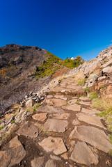Bergpfad, Gipfel