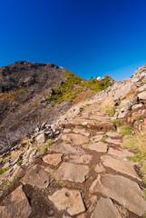 Wanderung auf Berg