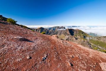 Ausblick vom Berg