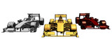 Golden Silver Bronze Race Car Vector 12