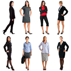 Businesswomen collection