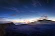Aube sur le Piton de la Fournaise - Réunion
