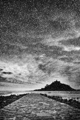 st michaels mount snowing
