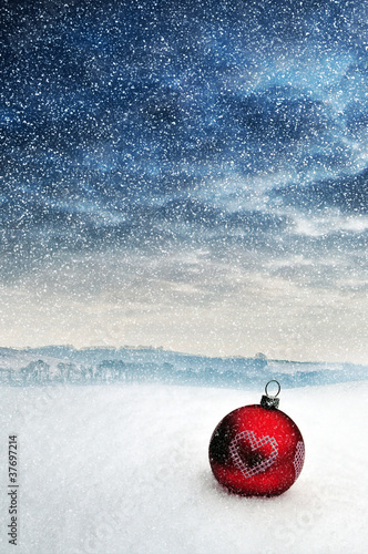 snow bauble