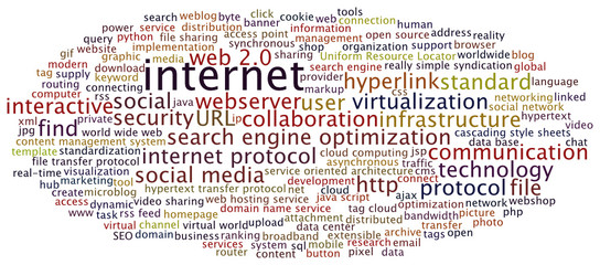 Tag Cloud Internet